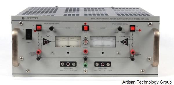 Kepco BOP-500M High Voltage Bipolar Operational Power Supply / Amplifier