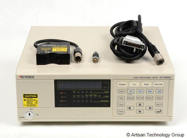Keyence LC-2400A Laser Displacement Meter Controller