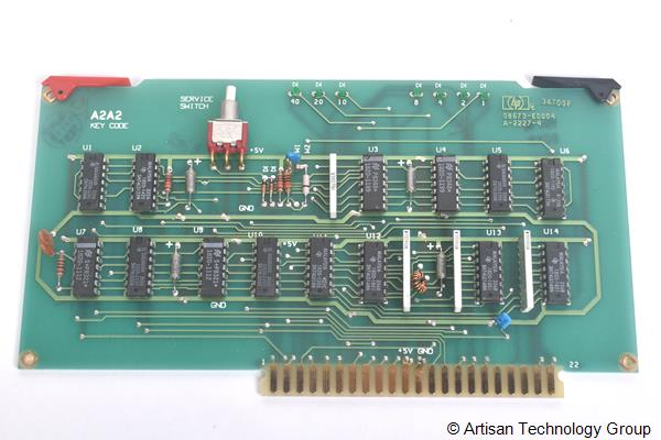 Keysight / Agilent 08673-60004 A2A2 Key Code Board