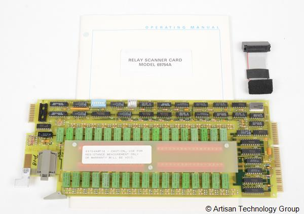 Keysight / Agilent 69754A 32-Channel Relay Scanner Card