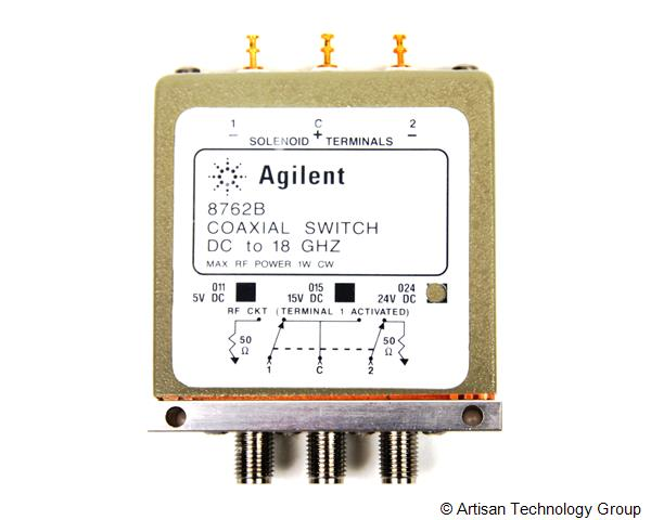 Keysight / Agilent 8762B High Isolation Coaxial DC to 18 GHz Switch