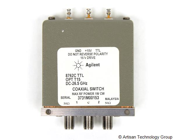 Keysight / Agilent 8762C TTL High Isolation Coaxial DC to 26.5 GHz Switch