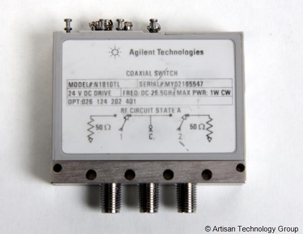 Keysight / Agilent N1810TL Coaxial Switch
