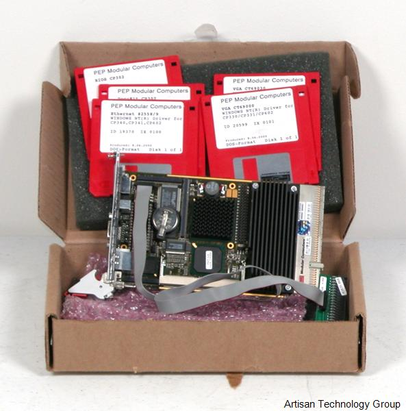 Kontron / PEP CP302 3U Compact PCI PIII CPU Board