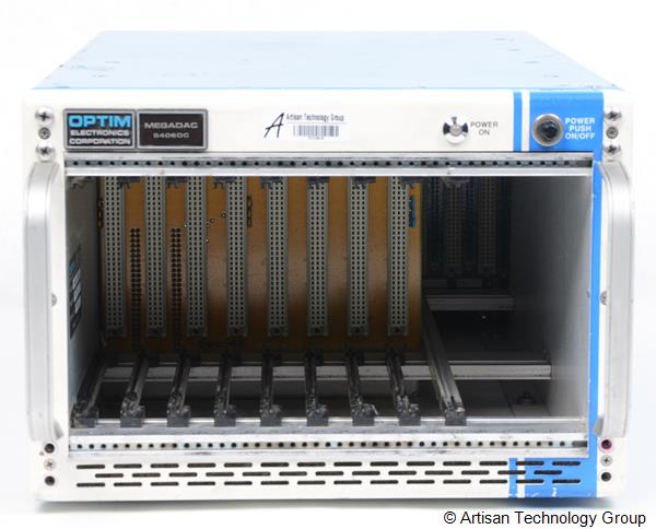 LDS / Optim Electronics Megadac 5406DC 8-Slot Data Acquisition Mainframe