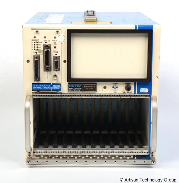 LDS / Optim Electronics Megadac 6510DC 12-Slot Data Acquisition Mainframe