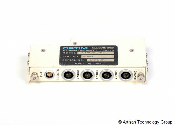 LDS / Optim Electronics PL2581 CA 37P to LEMO Interface
