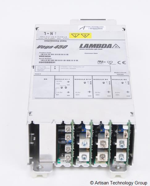 TDK-Lambda Vega 450 Multiple Output Modular Power Supply (5V/25A, 5V/25A, 5V/20A, 12V/6A, 12V/10A)