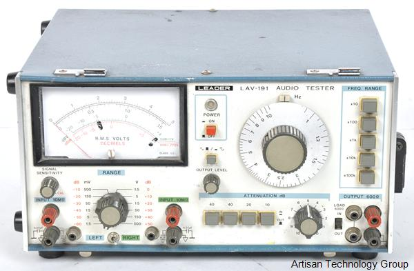 Leader LAV-191 Audio Tester