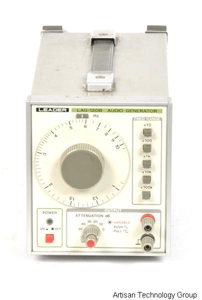 Lag-120b leader 1 mhz function generator used.