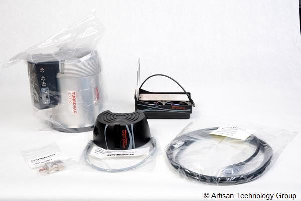 Leybold TURBOVAC 450iX / RS 485 / DN 160 ISO-K Turbomolecular Pump Bundle
