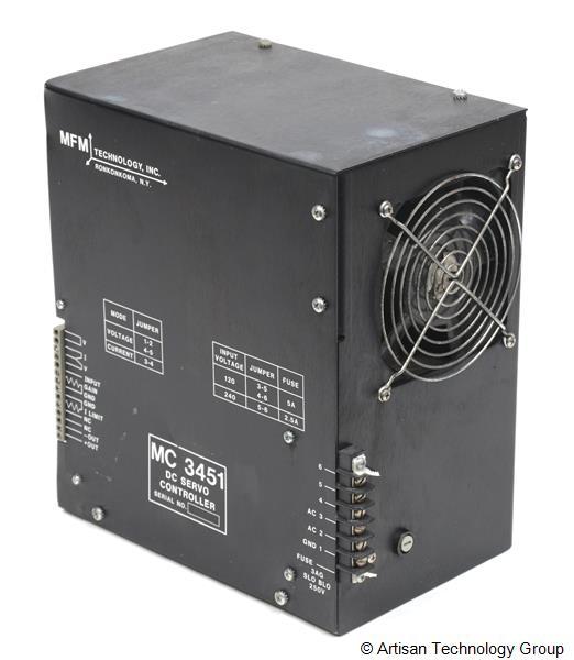 MFM Technology MC3451 DC Servo Controller