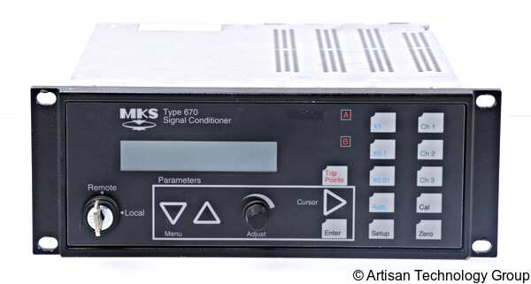 MKS Instruments 670B Signal Conditioner / Power Supply for Baratron