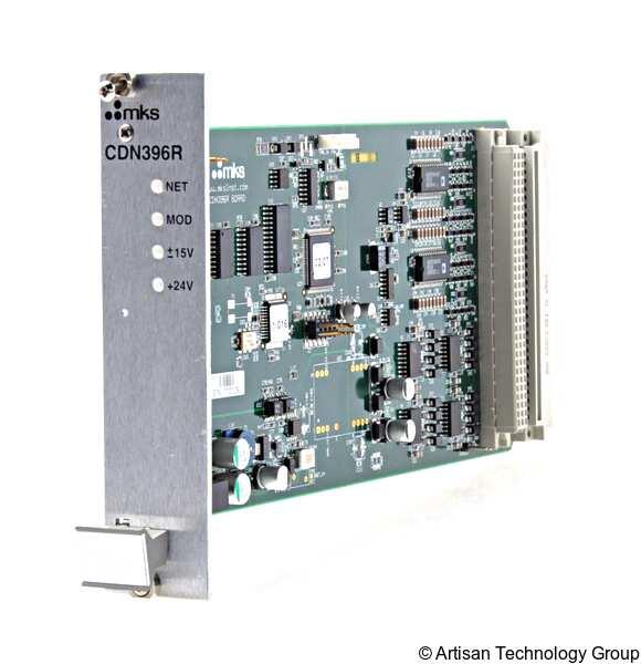 MKS Instruments CDN396R DeviceNet Analog I/O Card