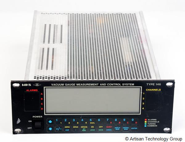 MKS Instruments 146A-ACONM-1 Cluster Gauge Vacuum Gauge Measurement and Control System