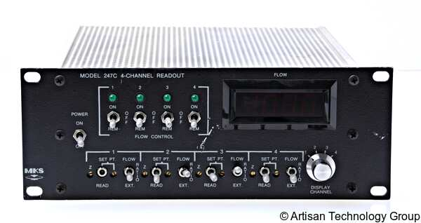 MKS Instruments 247 Four Channel Power Supply / Readout