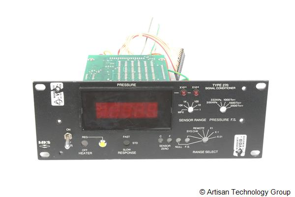 MKS Instruments 270C-4 Front Panel