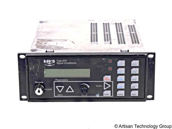 MKS Instruments 670A / 670B Signal Conditioner / Power Supply for Baratron