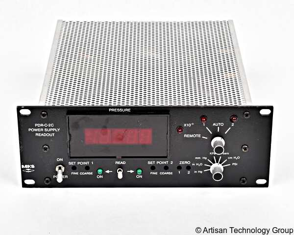 MKS Instruments PDR-C-2C Power Supply Digital Readout