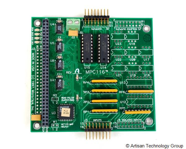 MicroSys MPC116 High Voltage, High Current, I/O for PC/104 Module