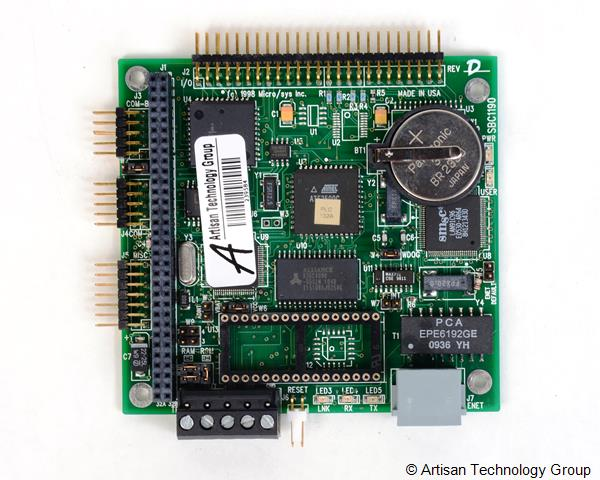 MicroSys SBC1190 PC/104 Controller with A/D, D/A, Serial, Built-In O/S Module
