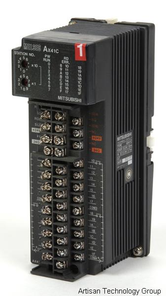 Mitsubishi AX41C Melsec-A Programmable Controller w/ A6DIN1C Wall Mount