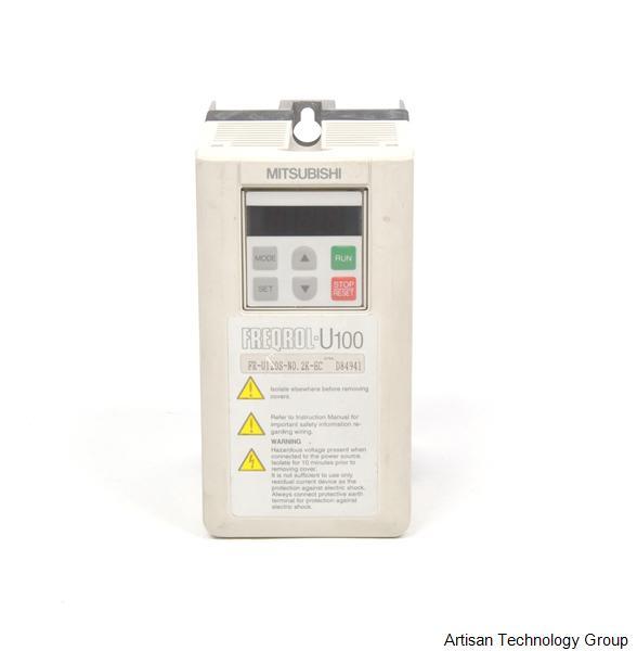 mitsubishi freqrol fr u120s n0 2k ec in stock we buy sell repair rh artisantg com  mitsubishi freqrol u100 manual español