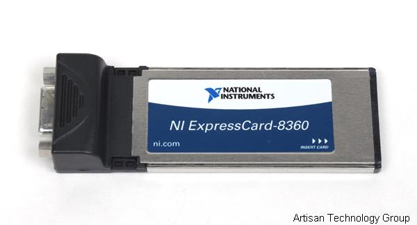 National Instruments ExpressCard-8360 1-Channel x1 MXI-Express Interface