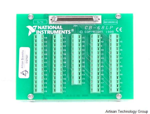 National Instruments CB-68LP 68-Pin Digital and Trigger I/O Terminal Block