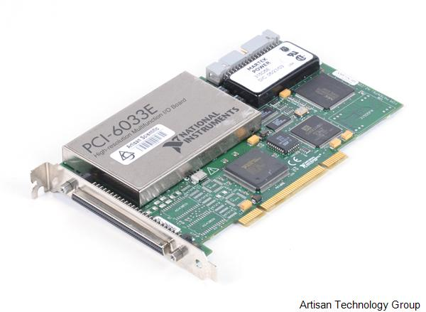 National Instruments PCI-6033E High-Resolution Multifunction DAQ Card