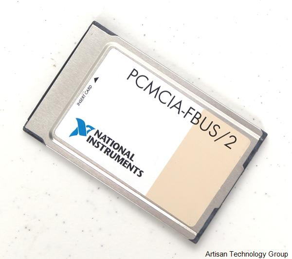 National Instruments PCMCIA-FBUS/2 Foundation Fieldbus Interface for PCMCIA