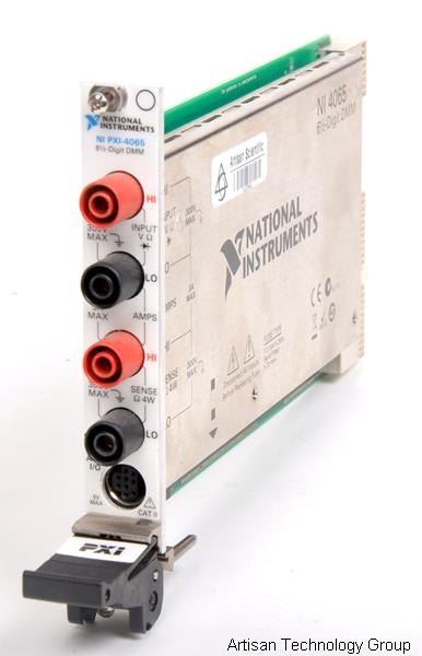 National Instruments PXI-4065 6.5-Digit Multimeter