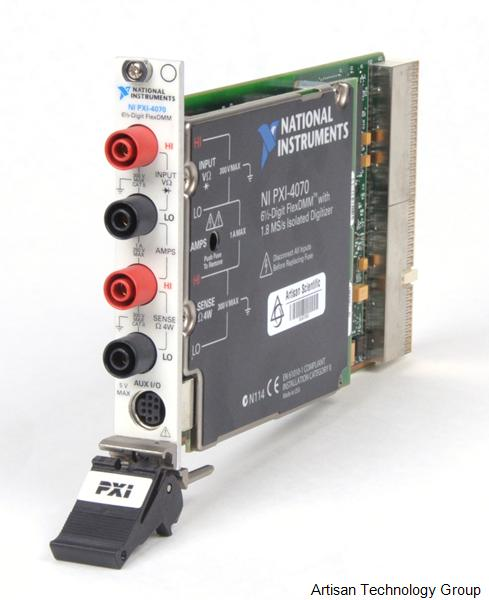 National Instruments PXI-4070 6.5 Digit Multimeter