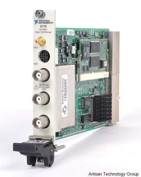 National Instruments PXI-5112 100 MHz, 100 MS/s 8-Bit Digitizer (16MB Per Channel)