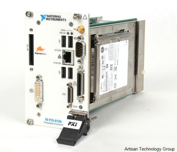 National Instruments PXI-8106 2.16 GHz Dual-Core PXI Embedded Controller