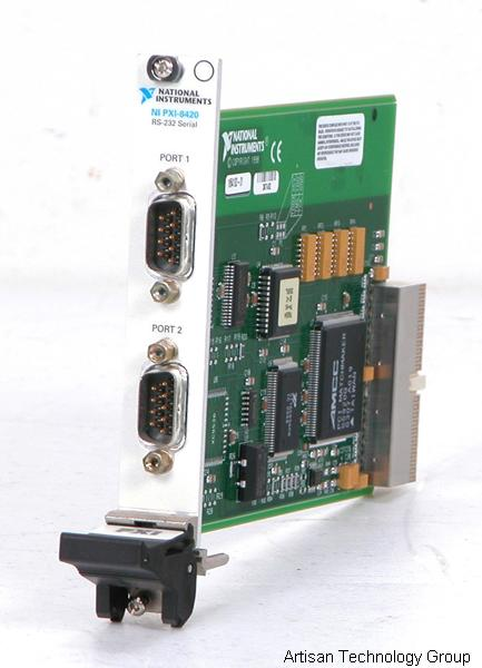 National Instruments PXI-8420/2 RS232 2-Port Interface Card
