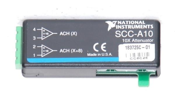 National Instruments SCC-A10 Voltage Attenuator Module
