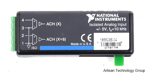 National Instruments SCC Analog Input/Output Modules