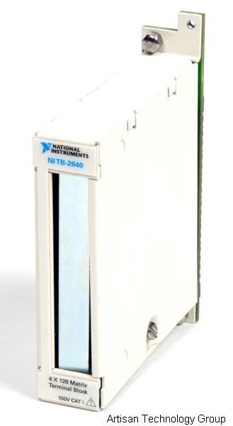 National Instruments TB-2640 Front-Mounting Terminal Block