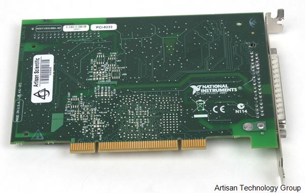 National Instruments PCI-6233 M Series Multifunction Data Acquisition Module
