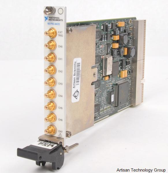 National Instruments PXI-4472 / PXI-4472B 24-Bit 8-Channel Dynamic Signal Acquisition Module