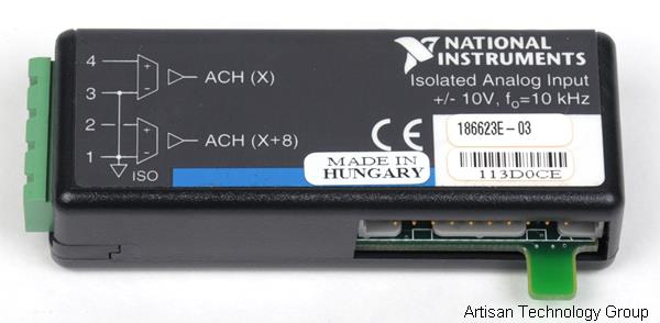 National Instruments SCC-AI03 2-Channel Analog Input Module
