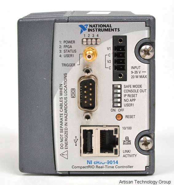 National Instruments cRIO-9014 High-Performance Real-Time Controller