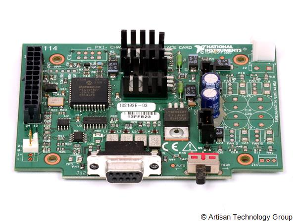 National Instruments 188193E-03 Fan Interface Card