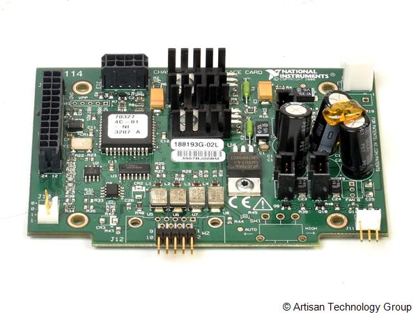 National Instruments 188193G-02L Fan Interface Board