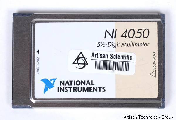 National Instruments PCMCIA-4050 5.5 Digit Multimeter