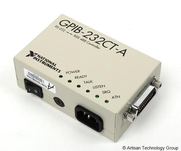 National Instruments GPIB-232CT-A / GPIB-232CV-A / GPIB-485CT-A GPIB RS-232/RS-485 IEEE 488 Controllers and Converters