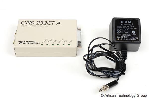 National Instruments GPIB-232CT-A IEEE 488 Controller (DC Input Voltage)