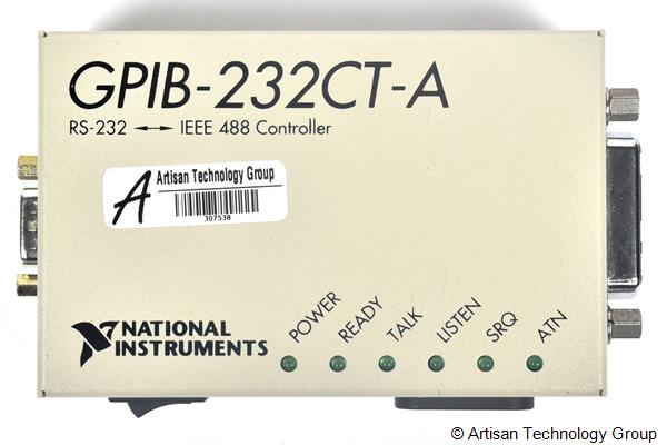 National Instruments GPIB-232CT-A IEEE 488 Controller (AC Input Voltage)