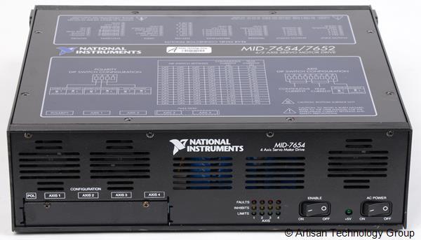National Instruments MID-7654 4-Axis Servo Motor Drive